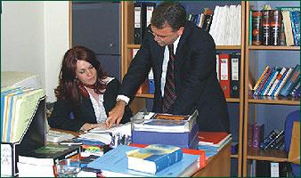 διαζύγιο δικηγόρος ραντεβού πελάτη